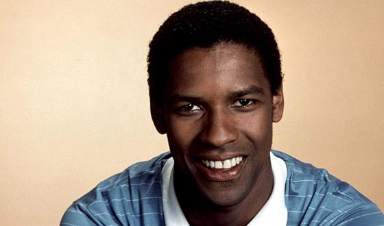 Denzel Washington at the beginning of his acting career