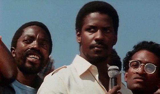 A still from the movie Cry Freedom