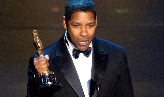 Denzel Washington at the Oscars