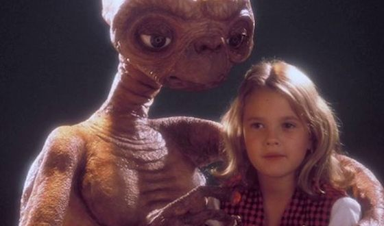 Drew Barrymore in ET