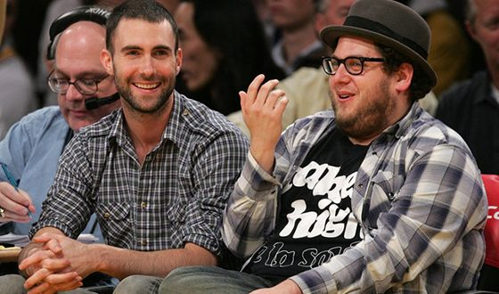 Adam Levine and Jonah Hill