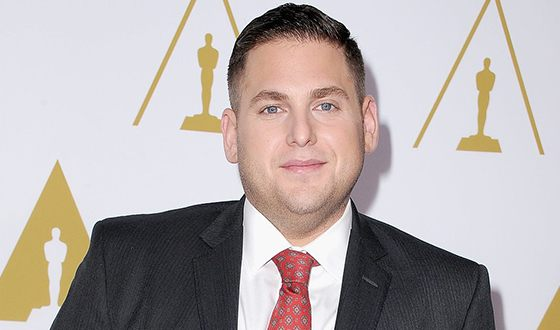 Jonah Hill at Oscar ceremony