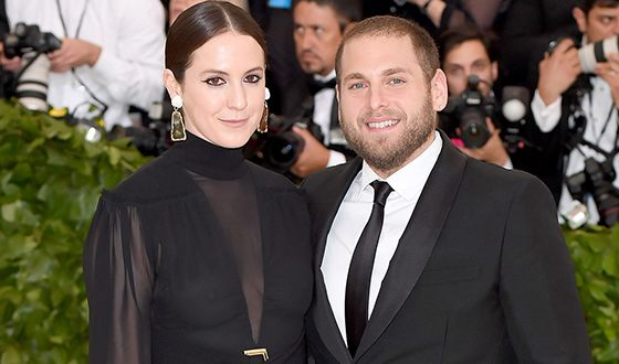 Erin Galpern and Jonah Hill