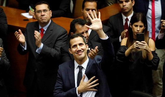 Juan Guaido became the federal deputy to the National Assembly of Venezuela