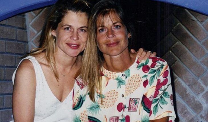Leslie and Linda Hamilton