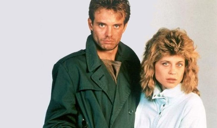 Linda Hamilton with Bruce Abbott