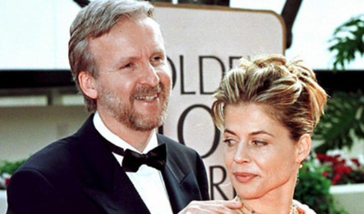 Linda with James Cameron