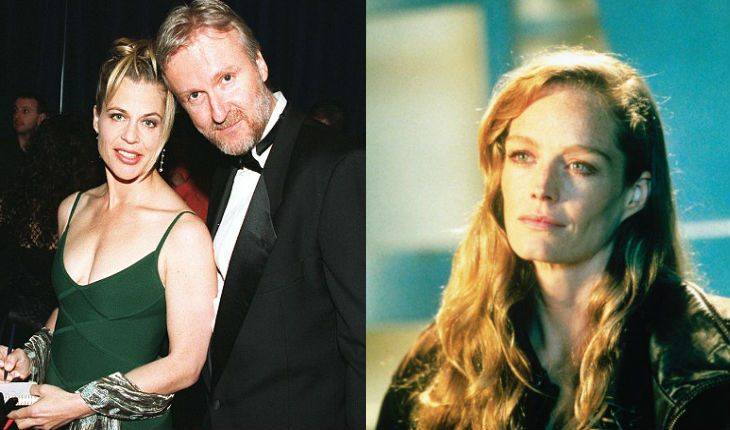 James Cameron left Linda for Suzy Amis (on the right)