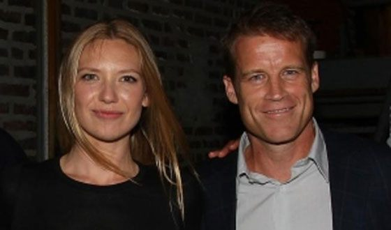 Anna Torv and her husband Mark Valley