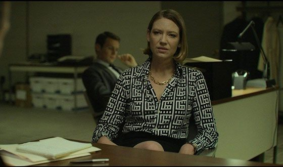 Anna Torv in the TV series Mindhunter