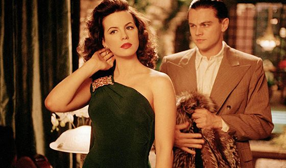 Shot from the film The Aviator