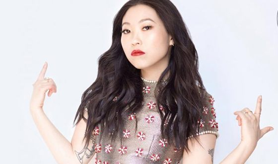 Awkwafina does not tell the name of her boyfriend