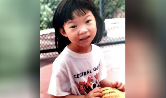 Awkwafina (Nora Lum) as a child
