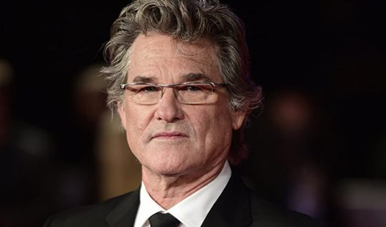 In the photo - Kurt Russell