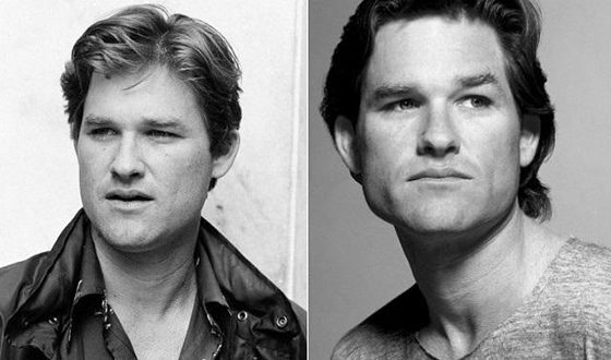 Kurt Russell in his youth