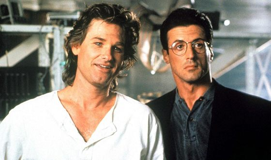 Kurt Russell and Sylvester Stallone
