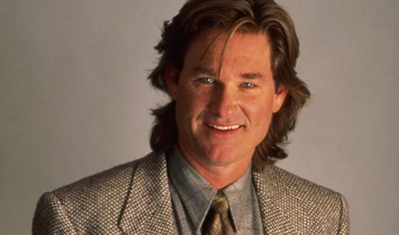 Young actor Kurt Russell