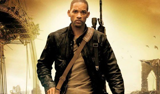 Will Smith looked great in the image of a professor