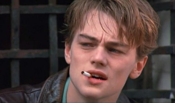 Young DiCaprio as basketball player Jim Carroll