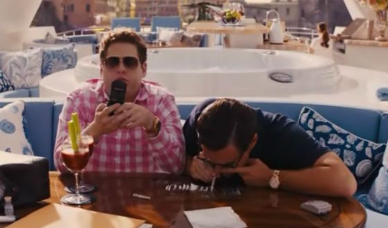 The Wolf of Wall Street is one of Martin Scorsese's best works