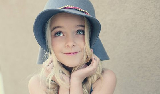 In the photo: Mckenna Grace