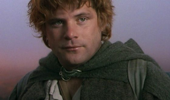 Permanent Samwise Gamgee from The Lord of the Rings trilogy