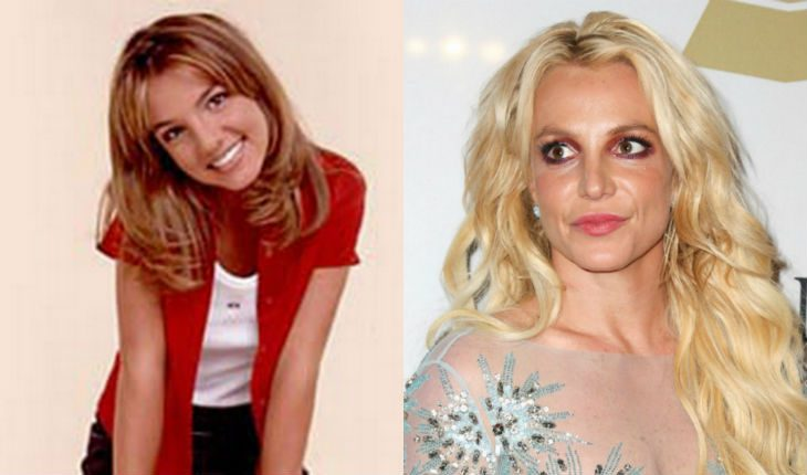 Britney Spears' stormy youth did not pass without a trace