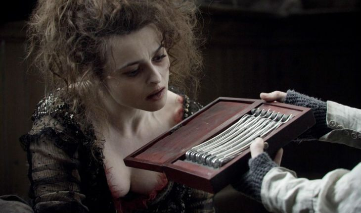 Helena Bonham Carter in the Sweeney Todd: The Demon Barber of Fleet Street
