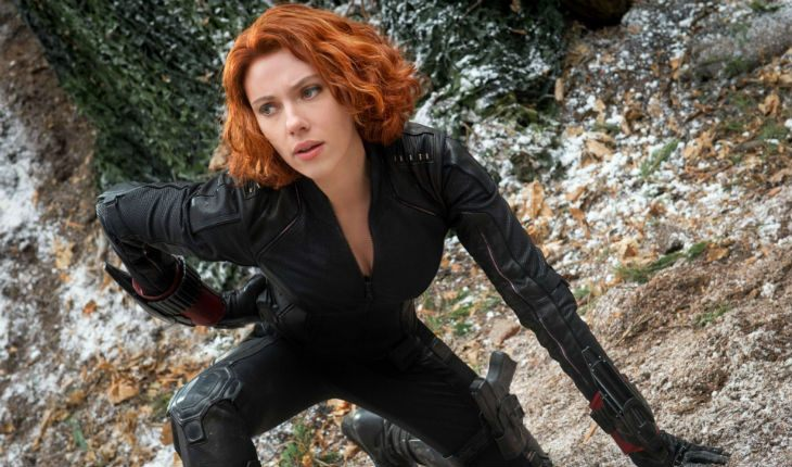 Scarlett Johansson in the Avengers: Age of Ultron