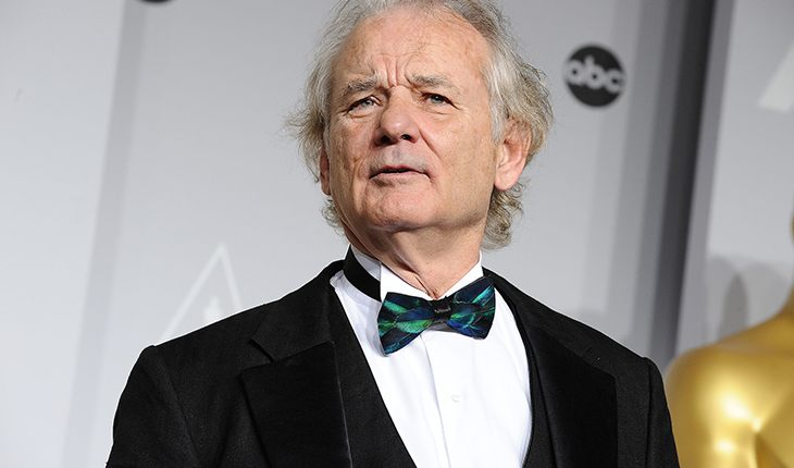 Bill Murray at the Oscar Ceremony