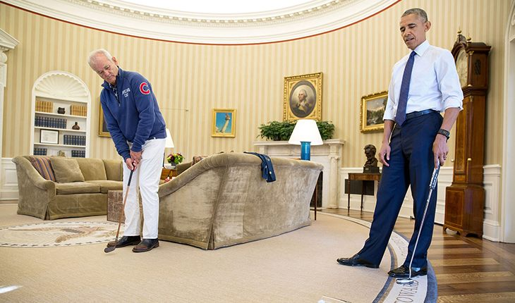 Bill Murray Visiting Barack Obama