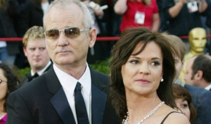Bill Murray and Jennifer Butler
