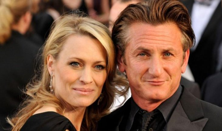 Robin Wright and Sean Penn