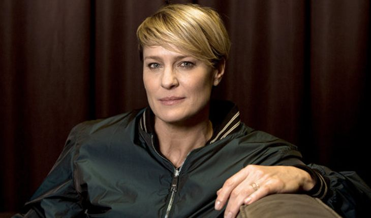 Stylish and confident Robin Wright