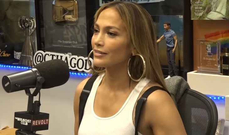 Jennifer Lopez at The Breakfast Club