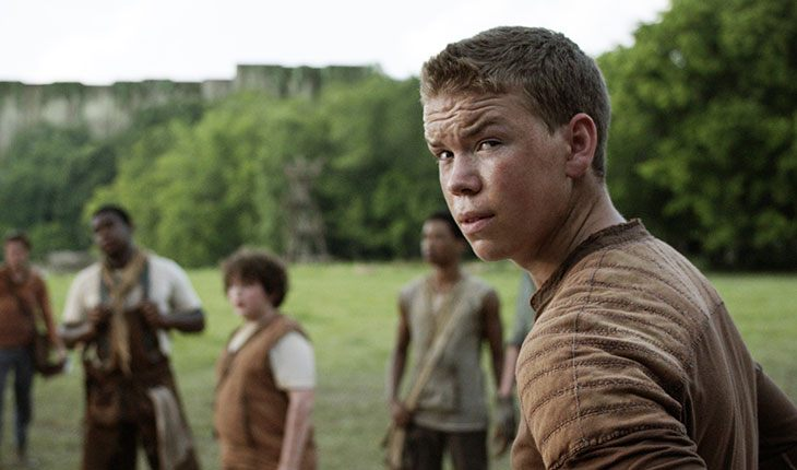 Will Poulter in The Maze Runner