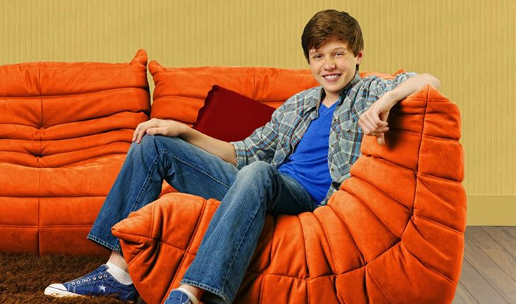 Nick Robinson in the TV show Melissa & Joey