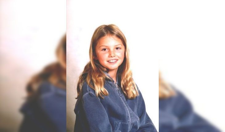 Hannah Murray in her childhood
