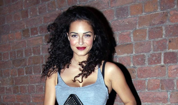 Anna Shaffer, English model, stage and film actress