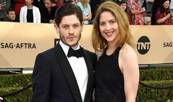 Iwan Rheon and Zoë Grisedale
