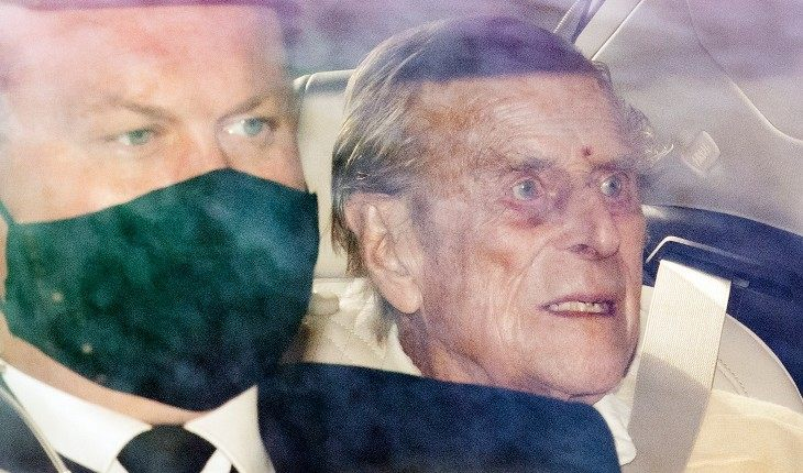 A photo of 99-year-old Prince Philip appeared on the web after heart surgery