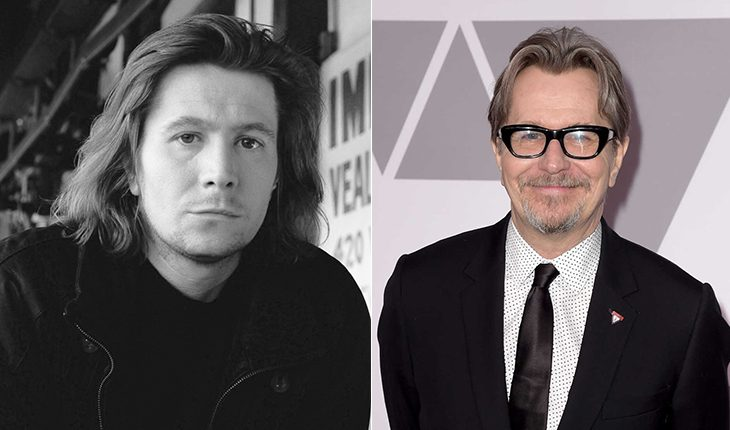 Gary Oldman then and now
