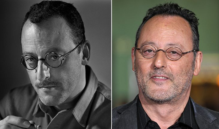 Jean Reno then and now