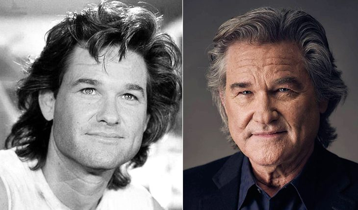 Kurt Russell then and now