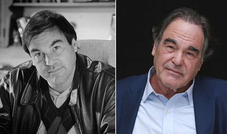 Oliver Stone then and now