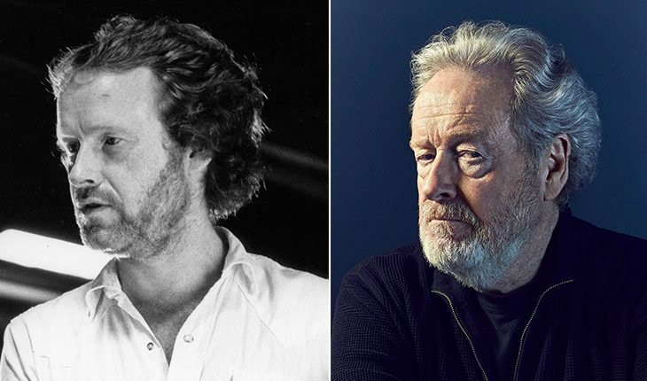 Ridley Scott then and now