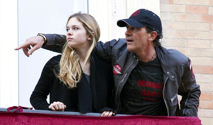 Antonio Banderas and his daughter from Melanie Griffith - Stella del Carmen Banderas Griffith