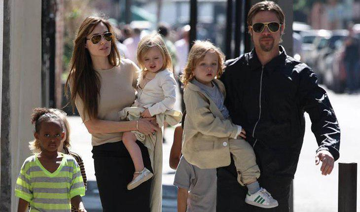 Brad Pitt and the maiden component of his children with ex-wife Angelina Jolie
