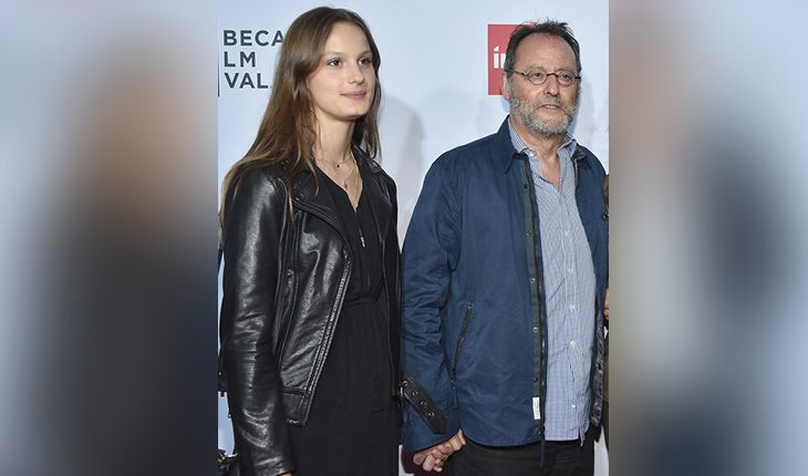 Jean Reno and his daughter Sandra