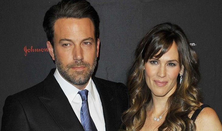 Ben Affleck and his ex-wife Jennifer Garner
